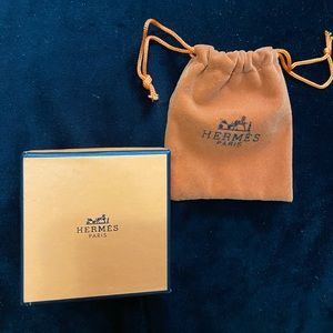 Hermes Authentic Mini Box & Dustbag
